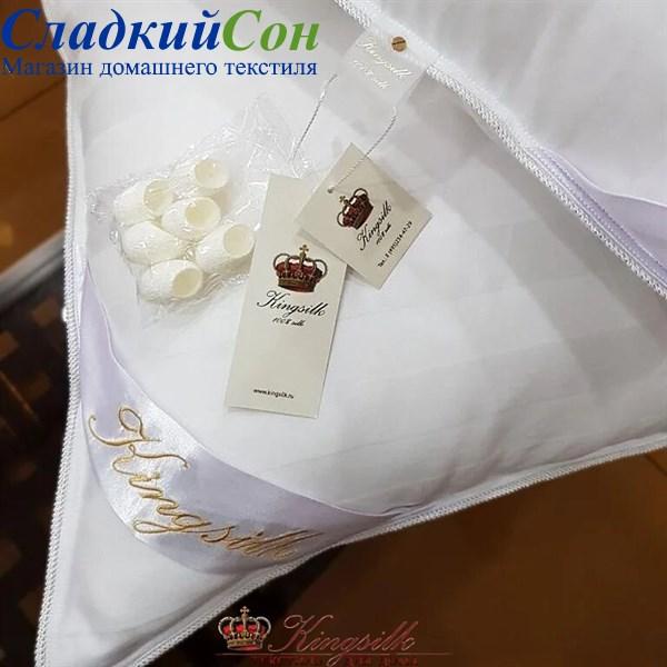 Подушка Kingsilk Premium P-AA-50-1-Bel белый - фото 100888