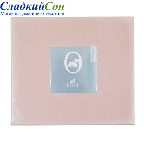Простыня на резинке Luxberry 180*200*30 розовая - фото 41058
