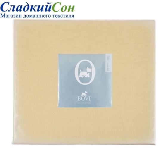 Простыня на резинке Luxberry 90*200*30 горчичная - фото 41061