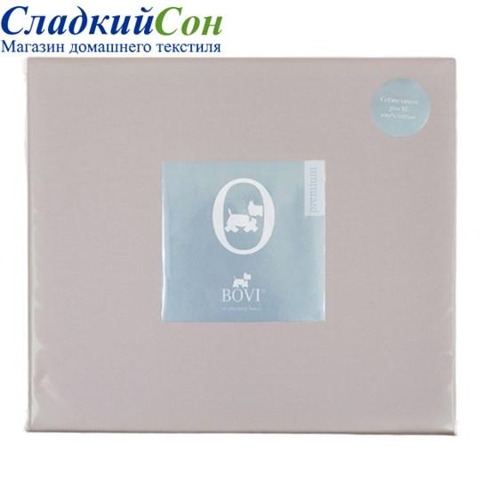 Простыня на резинке Luxberry перкаль 90*200*30 лавандовая - фото 41076