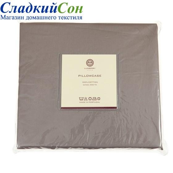 Простыня на резинке Luxberry сатин 160*200*30 мокко - фото 41236