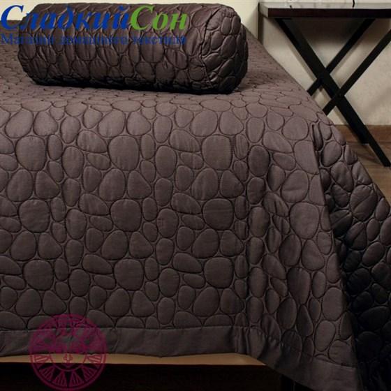 Покрывало Luxberry STONE 240*260, цвет: шоколадный - фото 47677