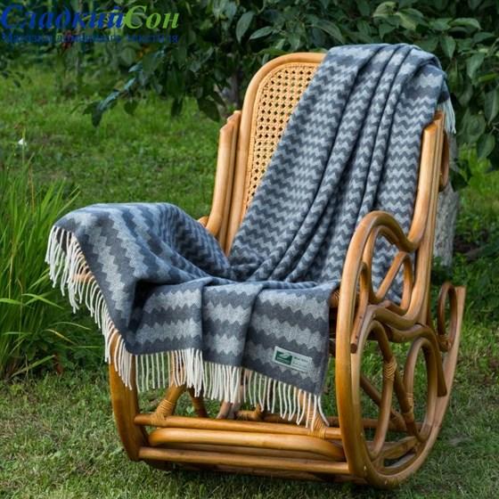 Плед Flaum Neuseeland Wolle Anna серый - фото 50613