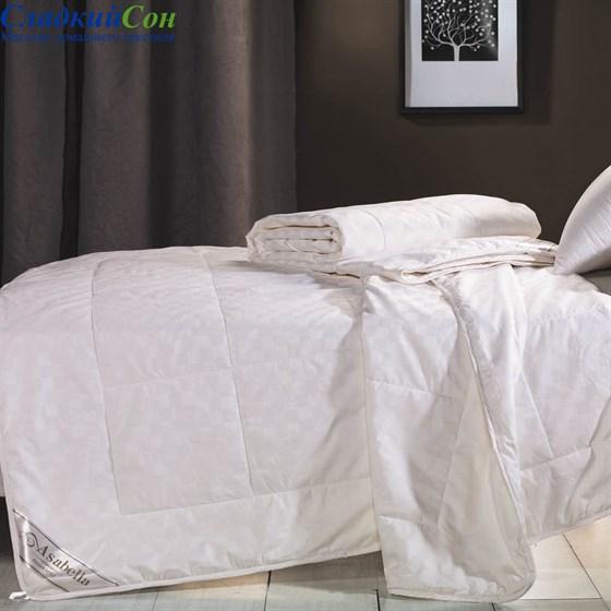 Шелковое одеяло Asabella CS-5 155*215 летнее / легкое белое - фото 50811
