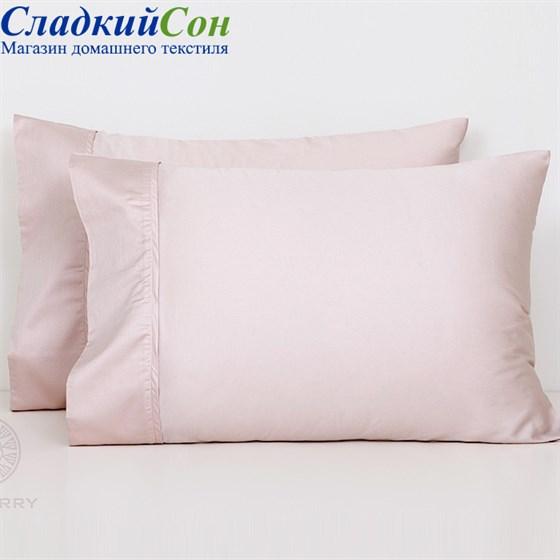 Наволочка Luxberry cатин розовая 50*70 - фото 52556