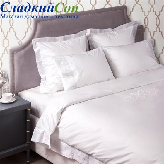 Комплект постельного белья Luxberry Venice Евро белый - фото 55900