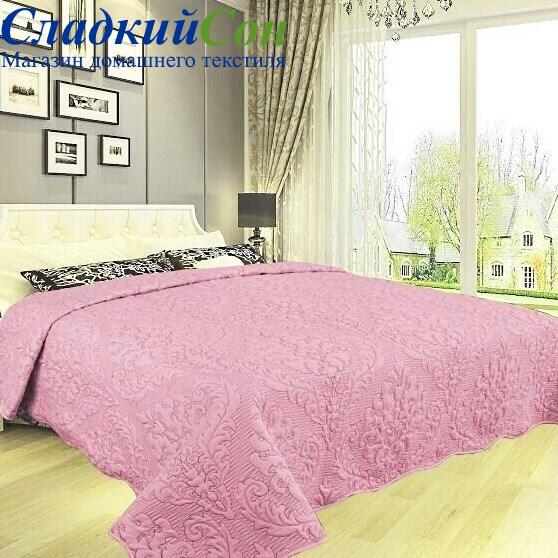 Покрывало DA Classic 36-7-230 розовое - фото 58701