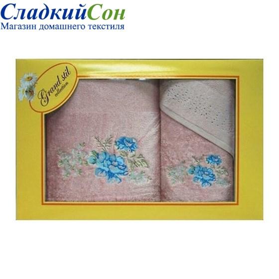 Набор полотенец Grand Stil Виола розовый - фото 58738