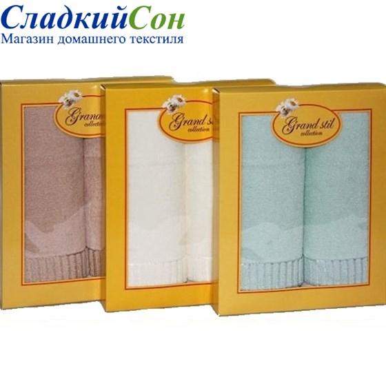 Набор полотенец Grand Stil Соло кремовый - фото 58815