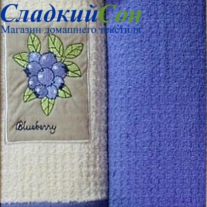Набор полотенец Grand Stil Черника аппликация б/к - фото 58971
