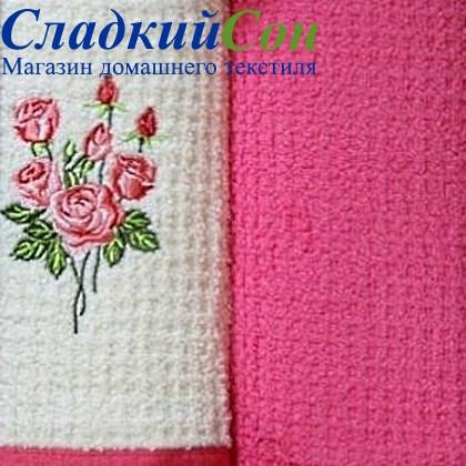 Набор полотенец Grand Stil Цветник Роза б/к - фото 58977