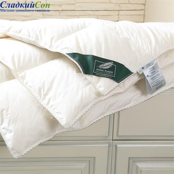 Одеяло пуховое Flaum Sahne 200х220 всесезонное - фото 59500
