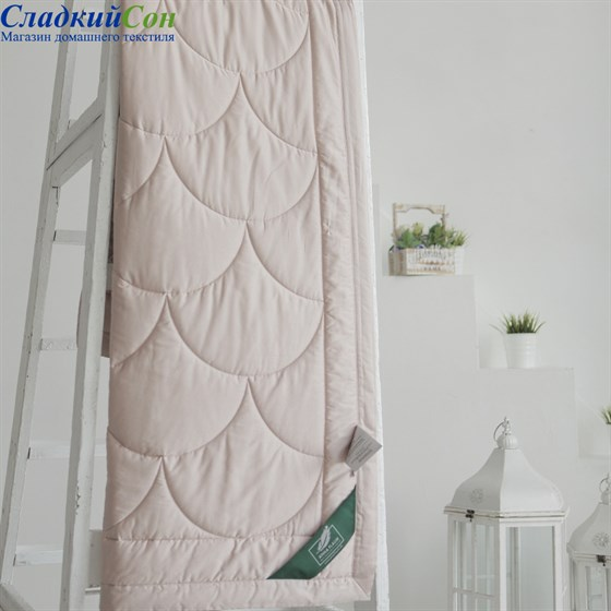 Одеяло Flaum Farbe 200*220 легкое кремовое - фото 59514