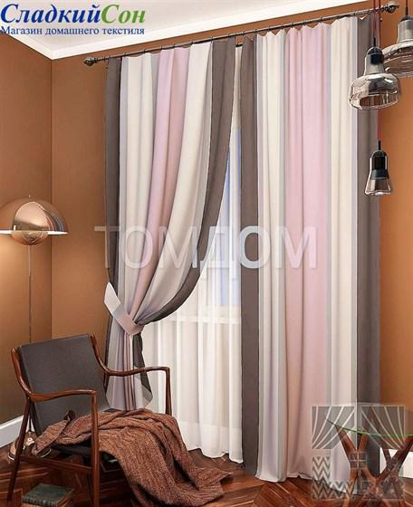 Комплект штор ТомДом Пьер - фото 61592