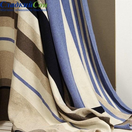 Плед Luxberry Imperio 82 150*200, цвет: бежевый/синий - фото 61867