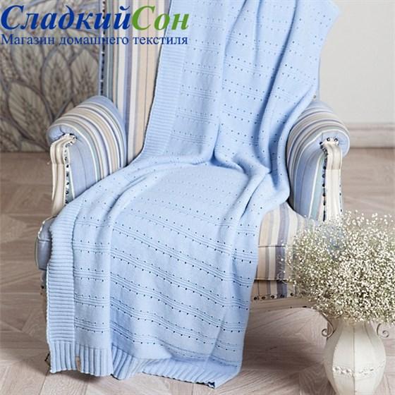 Плед Luxberry LUX 41 150*200, цвет: голубой - фото 61929