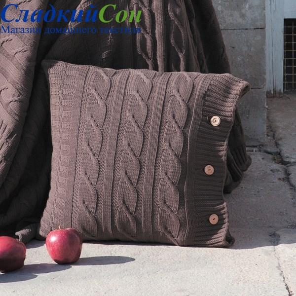 Наволочка Luxberry Imperio 233, цвет: шоколадный - фото 62314