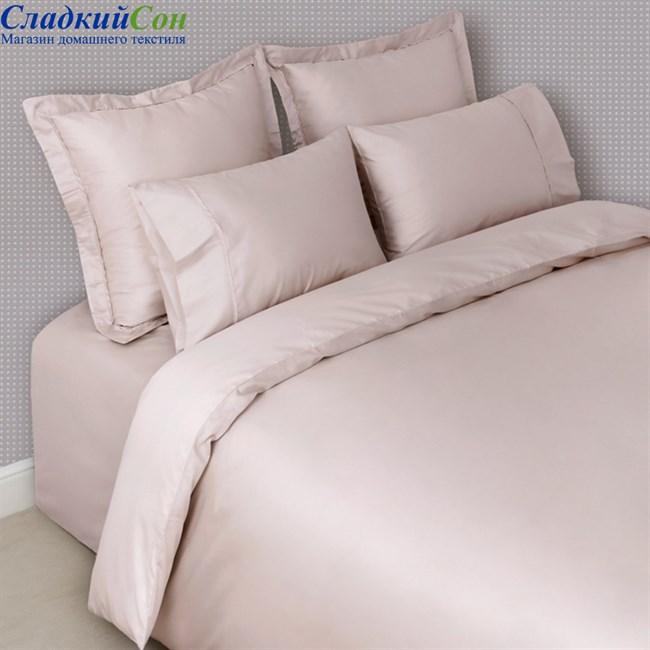 Комплект постельного белья Luxberry BASIC Евро розовый - фото 64240