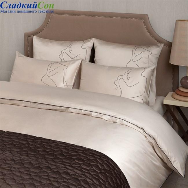 Комплект постельного белья Luxberry ETUDE 1,5-спальный песочный - фото 64409