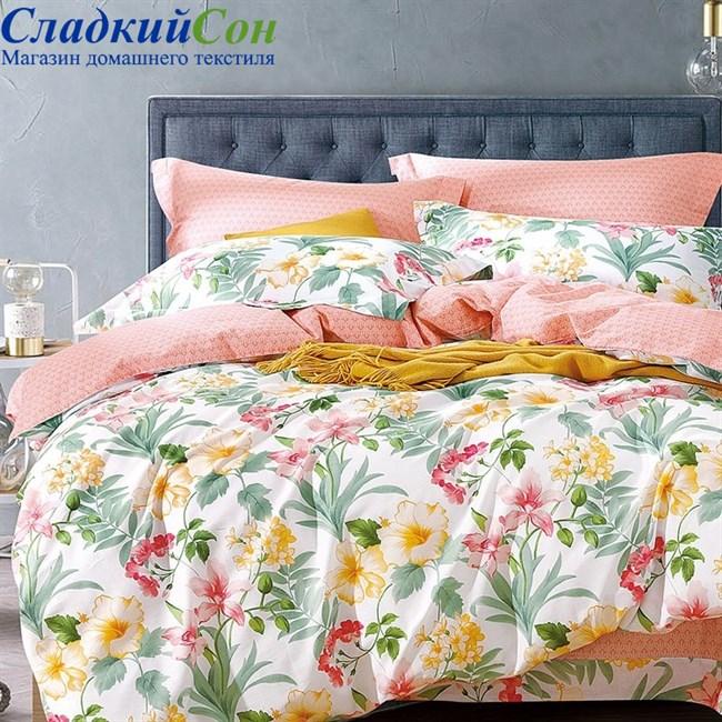Комплект постельного белья Asabella 485-4S 1,5-спальный мультитон - фото 78607