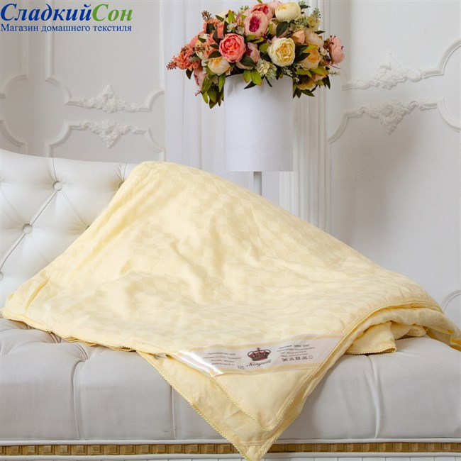Одеяло Kingsilk Elisabette Элит E-150-1-Bej - фото 80477