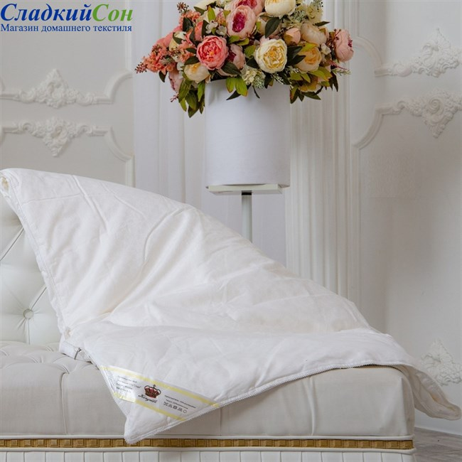 Одеяло шелковое Kingsilk Elisabette Люкс L-150-1 - фото 80546