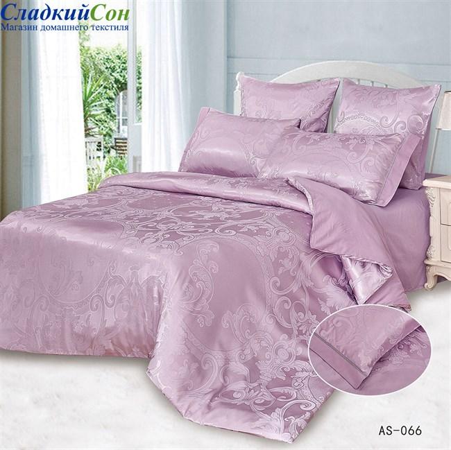 Комплект постельного белья Arlet AS-066-3 Евро сиреневый - фото 81508