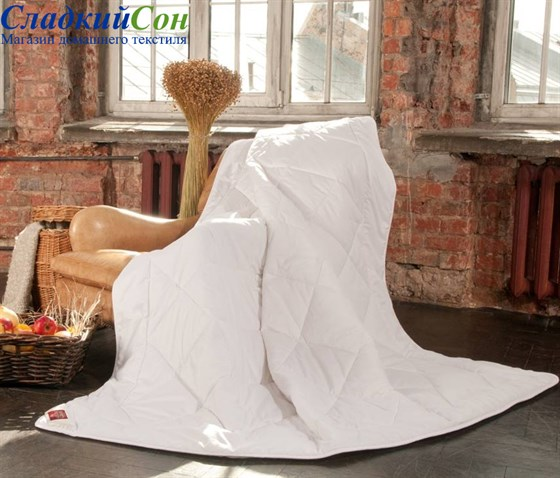 Одеяло German Grass  Linen Wash Grass легкое - фото 8175