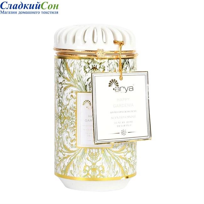 Ароматическая свеча Arya Happy Gardenia - фото 82903