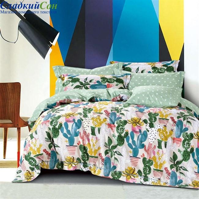 Комплект постельного белья Asabella 1274-4S 1,5-спальный мультитон - фото 84337