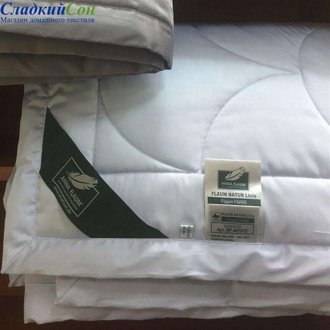 Одеяло Flaum Farbe 150*200 легкое голубое - фото 91280