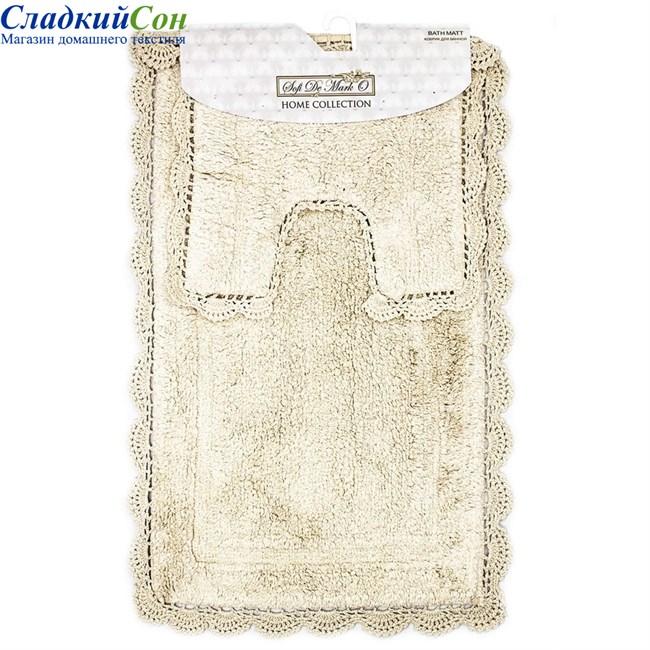 Набор ковриков для ванной Sofi de Marko CLEO (беж) 60*100/50*50 - фото 92797