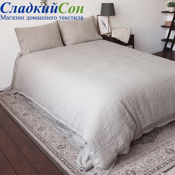 Комплект постельного белья Luxberry BEDROOM LINE Евро натуральный - фото 94105
