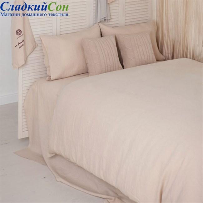 Комплект постельного белья Luxberry BEDROOM LINE 1,5-спальный бежевый - фото 94110