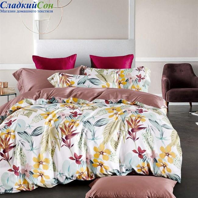 Комплект постельного белья Asabella 1437-4S 1,5-спальный мультитон - фото 95116