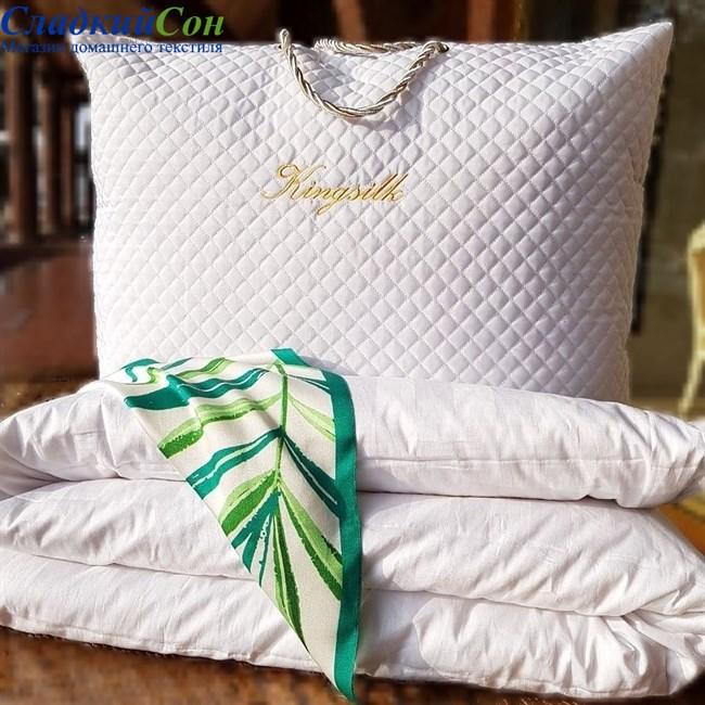 Одеяло шелковое Kingsilk Premium P-AA-200-1,3-Bel - фото 95482