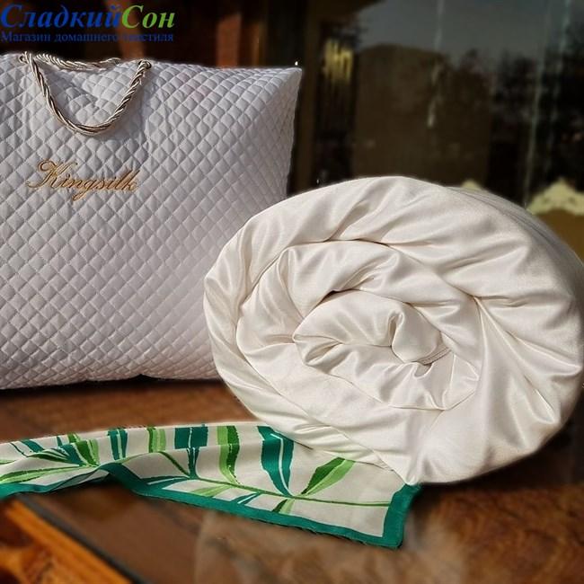 Одеяло шелковое Kingsilk Luxury LAA-200-1,3-Bel - фото 95504