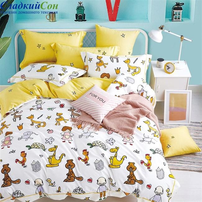 Детское постельное белье Asabella 1395-4S 1,5-сп. мультитон - фото 95767
