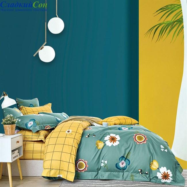 Комплект постельного белья Asabella 1468-4S 1,5-спальный мультитон - фото 95807