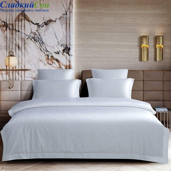 Комплект постельного белья Asabella 1516-4S 1,5-спальный белый - фото 95979