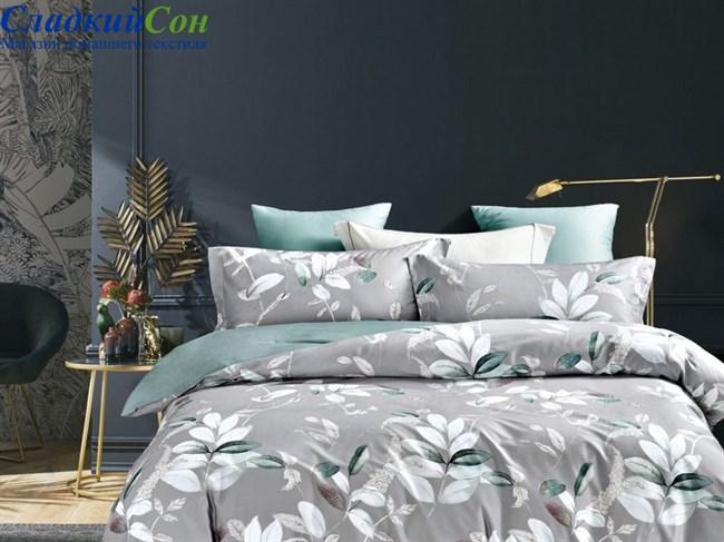 Комплект постельного белья Евро, печатный сатин 1546-6/180 - фото 99401