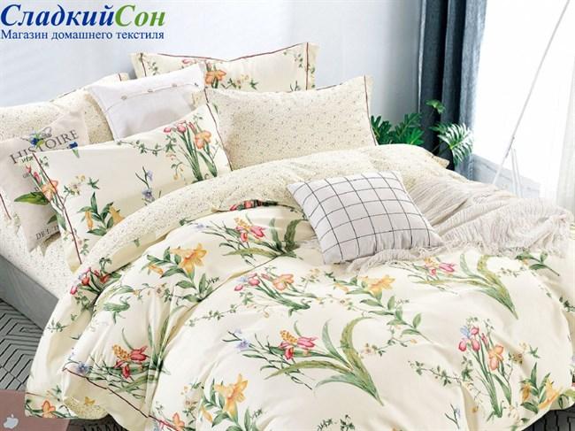 Комплект постельного белья Asabella 1,5-сп. печатный сатин 1549-4S - фото 99748