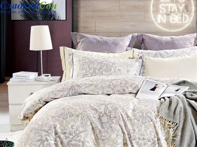 Комплект постельного белья Asabella евро печатный сатин 1551-6/180 - фото 99762