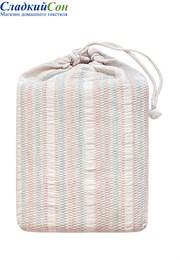 Покрывало CANDY Devilla Хлопок 100% 240х220 экрю/розовый/голубой