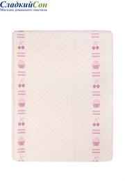 Покрывало CUPCAKE для подростков Luxberry 100% хлопок 150х220 розовый