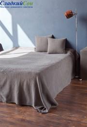 Покрывало VINCENT Luxberry Хлопок 100% 200х220 серый/сепия