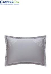 Наволочка с запахом CASTELLO BOVI 70x70 100% хлопок сатин серый