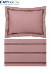 Комплект постельного белья АКЦЕНТ Bovi-05965 100% хлопок перкаль карминово-розовый
