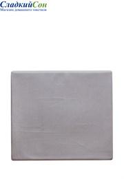 Простыня на резинке 160x200x30 BOVI 100% хлопок сатин серый