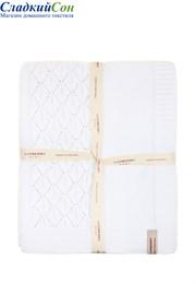 Плед детский Imperio 283 Luxberry 100x150 Хлопок 100% белый